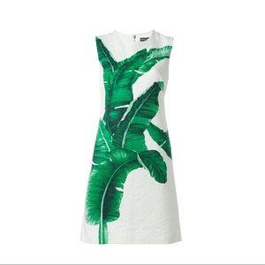 NWOT AUTHENTIC Dolce & Gabbana Banana leaf dress.